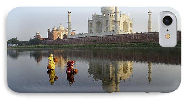 Timeless Taj Mahal Phone Case by Michele Burgess