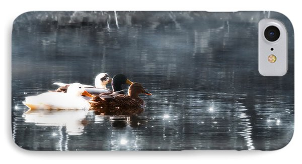 Together IPhone Case by Wim Lanclus