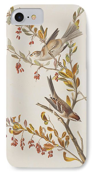 Tree Sparrow IPhone Case by John James Audubon