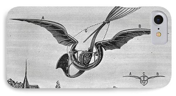 TrouvÉs Ornithopter Phone Case by Granger