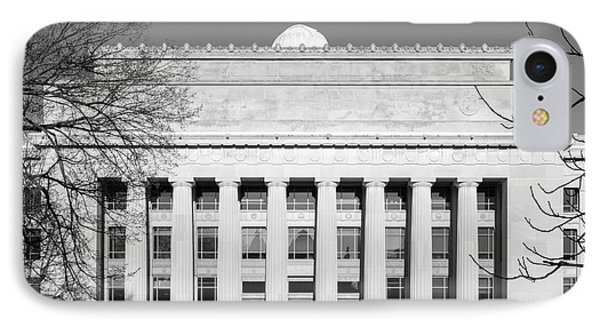 University Of Michigan Angell Hall  IPhone Case by University Icons