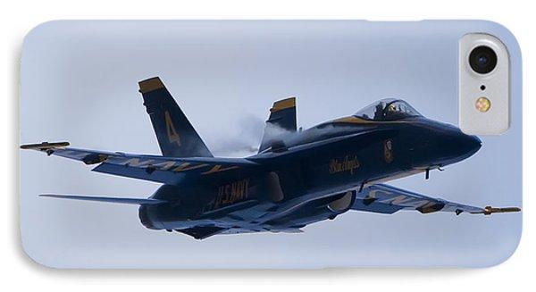 Us Navy Blue Angels High Speed Turn Phone Case by Dustin K Ryan