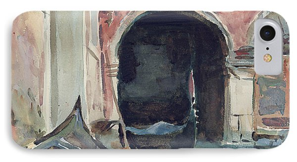 Venetian Canal IPhone Case by John Singer Sargent