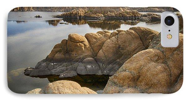 Watson Lake Arizona 13 IPhone Case by Bob Christopher