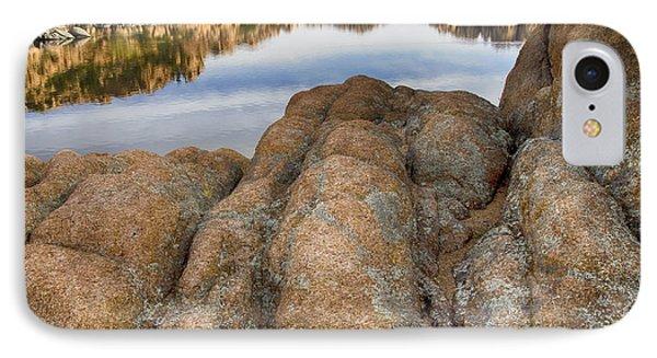 Watson Lake Arizona 15 IPhone Case by Bob Christopher