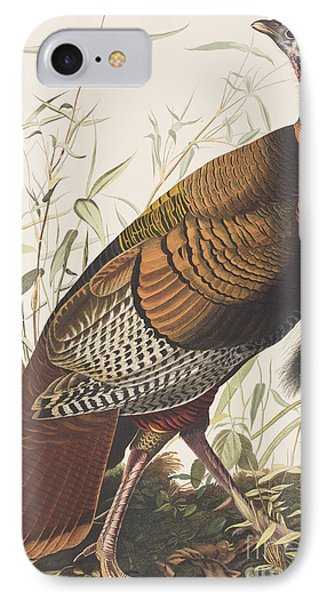 Wild Turkey IPhone 7 Case by John James Audubon