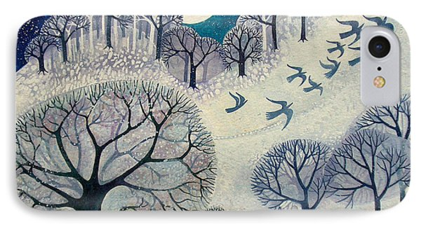Winter Woolies IPhone Case by Lisa Graa Jensen