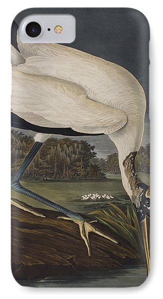 Wood Ibis IPhone 7 Case by John James Audubon