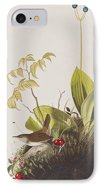 Wood Wren IPhone 7 Case by John James Audubon