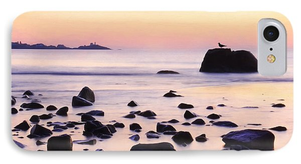 York Harbor At Dawn IPhone Case by Lori Deiter