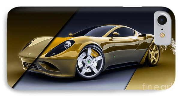 Ferrari Collection IPhone Case by Marvin Blaine
