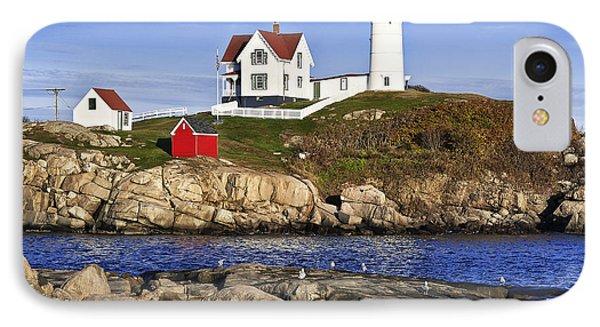 Nubble Lighthouse IPhone Case by John Greim