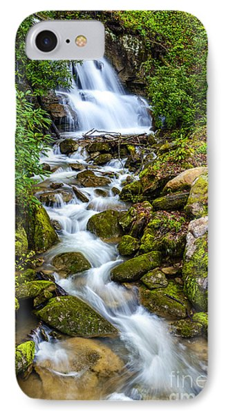 West Virginia Waterfall  IPhone Case by Thomas R Fletcher