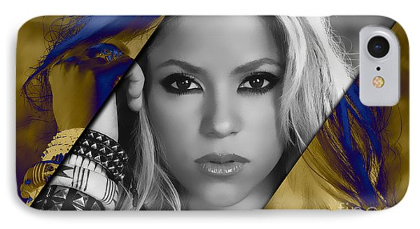 Shakira Collection IPhone Case by Marvin Blaine