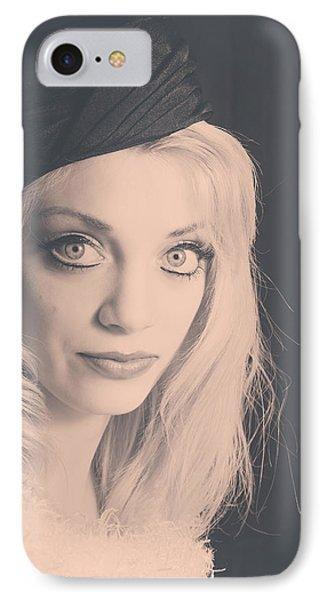 1249-2 IPhone Case by Teresa Blanton