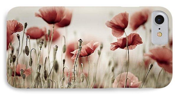 Poppy Dream IPhone Case by Nailia Schwarz