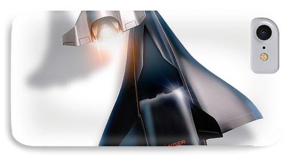 Saenger Horus Spaceplane, Artwork IPhone Case by Detlev van Ravenswaay