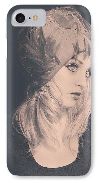 1394-2 IPhone Case by Teresa Blanton