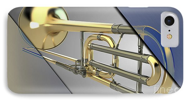 Trombone Collection IPhone Case by Marvin Blaine