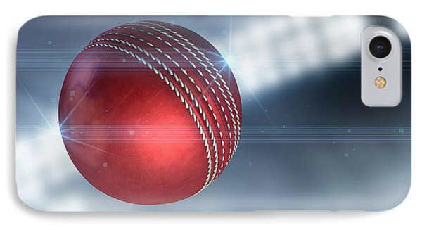 Ball Flying Through The Air IPhone 7 Case by Allan Swart