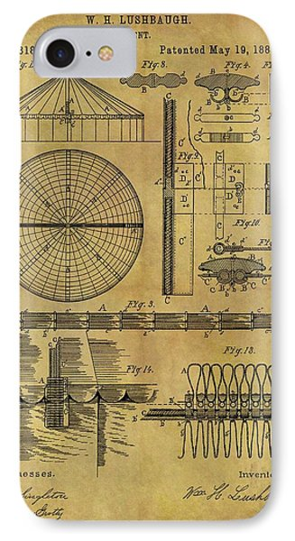 1885 Circus Tent IPhone Case by Dan Sproul