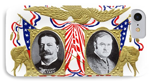1909 Our Choice William Howard Taft IPhone Case by Historic Image