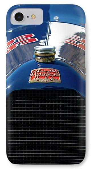 1914 Peugeot L45 Emblem Phone Case by Jill Reger