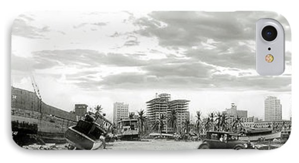 1926 Miami Hurricane  IPhone Case by Jon Neidert