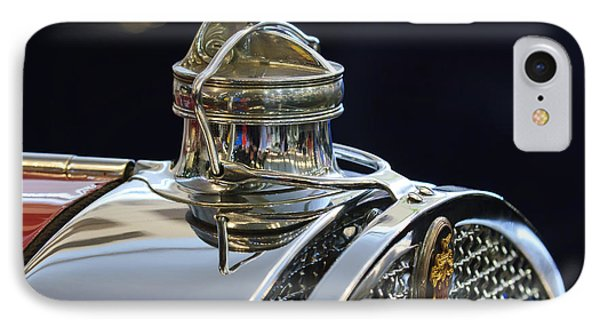 1929 Packard 8 Hood Ornament 3 Phone Case by Jill Reger