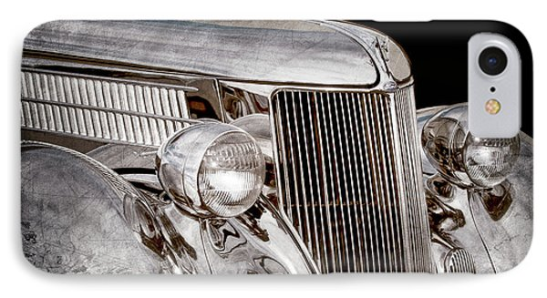 1936 Ford - Stainless Steel Body -0371ac IPhone Case by Jill Reger