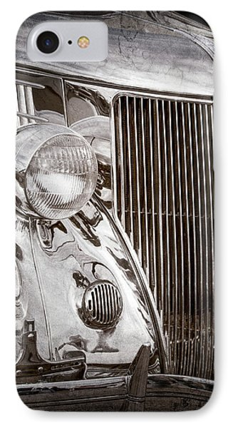 1936 Ford Stainless Steel Grille -0376ac IPhone Case by Jill Reger