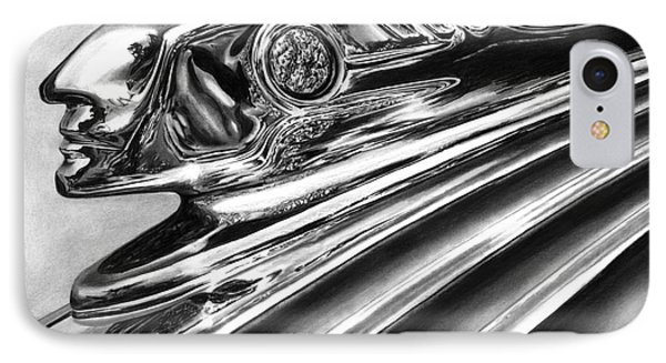 1937 Pontiac Chieftain Abstract Phone Case by Peter Piatt