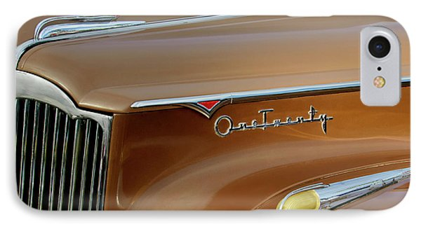 1941 Packard Hood Ornament 2  Phone Case by Jill Reger