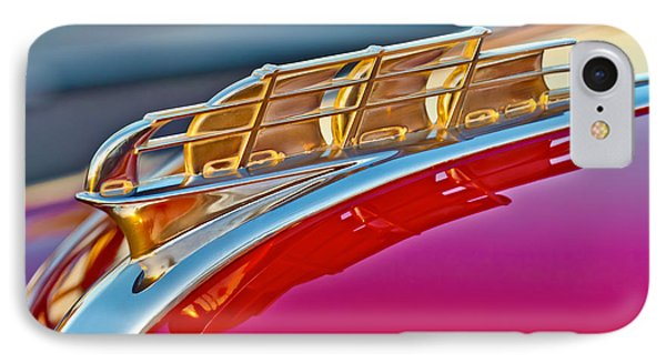 1949 Plymouth Hood Ornament Phone Case by Jill Reger