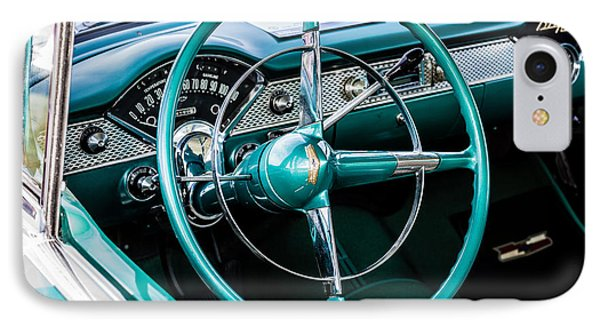 IPhone Case featuring the photograph 1955 Chevrolet Bel Air by M G Whittingham
