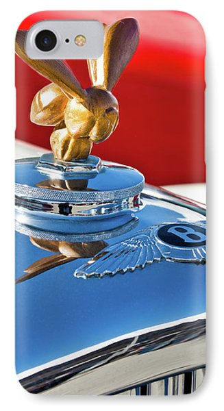 1954 Bentley One Of A Kind Hood Ornament Phone Case by Jill Reger