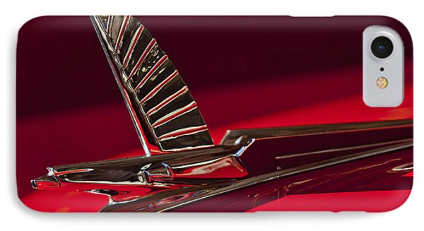 1954 Ford Cresline Sunliner Hood Ornament Phone Case by Jill Reger