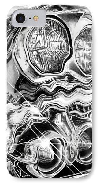 1958 Impala Beauty Within The Beast Phone Case by Peter Piatt