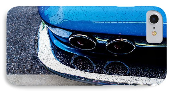 IPhone Case featuring the photograph 1965 Corvette Sting Ray by M G Whittingham