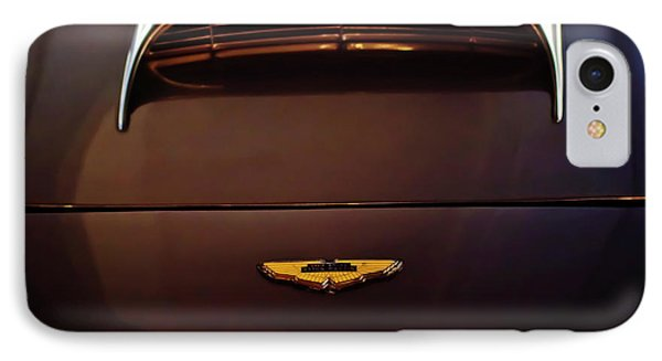 1961 Aston Martin Db4 Coupe Emblem Phone Case by Jill Reger