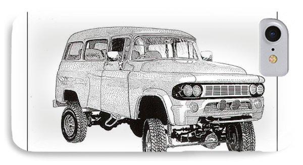 1962 Dodge Powerwagon Phone Case by Jack Pumphrey