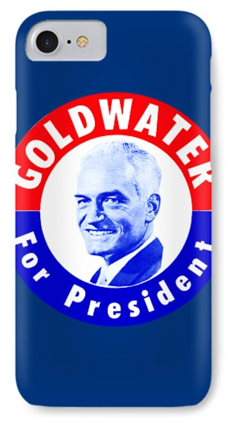 1964 Goldwater For President IPhone Case by Historic Image