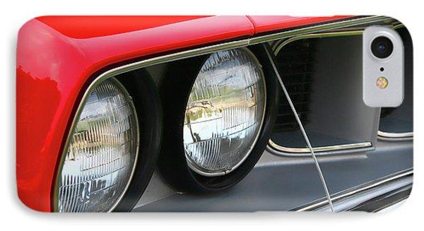 1971 Plymouth Barracuda Cuda Red  Phone Case by Gordon Dean II