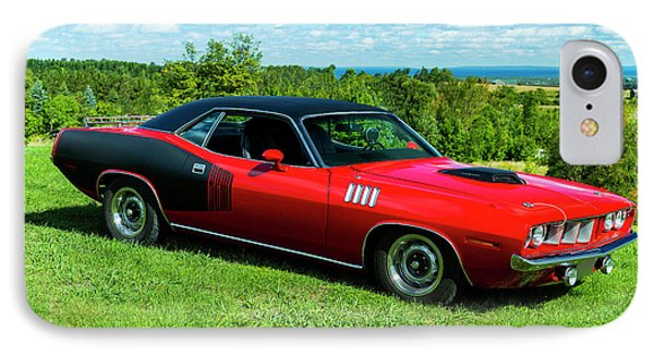 1971 Plymouth IPhone Case by Performance Image