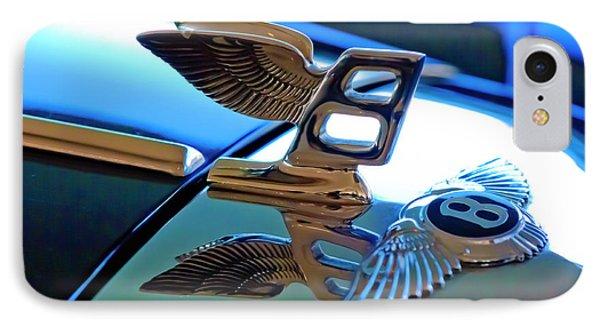 1980 Bentley Hood Ornament Phone Case by Jill Reger
