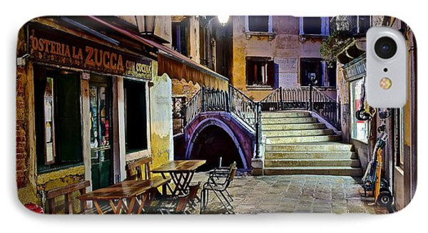 An Evening In Venice IPhone Case by Frozen in Time Fine Art Photography