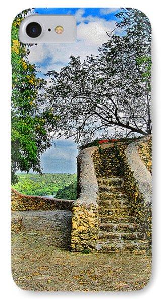 Altos De Chavon Texture. Republica Dominicana. IPhone Case by Andy Za
