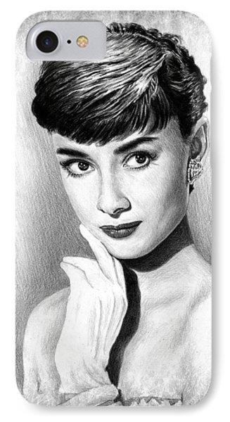 Audrey Hepburn IPhone Case by Andrew Read