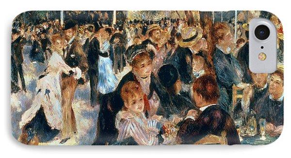 Ball At The Moulin De La Galette IPhone Case by Pierre Auguste Renoir