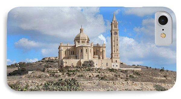 Basilica Ta Pinu - Gozo IPhone Case by Joana Kruse